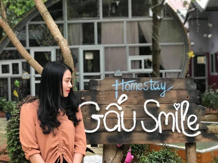 gau smile 3 750x563 - TOP 5 homestay Mộc Châu cực deep cho bạn thỏa sức sống ảo