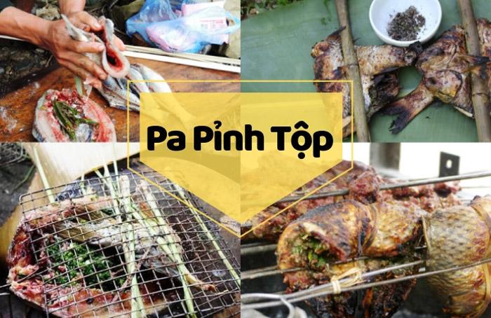 pa pinh top ca nuong moc chau 2 - Khám phá món Cá Nướng Pa Pỉnh Tộp của người Thái tại Mộc Châu
