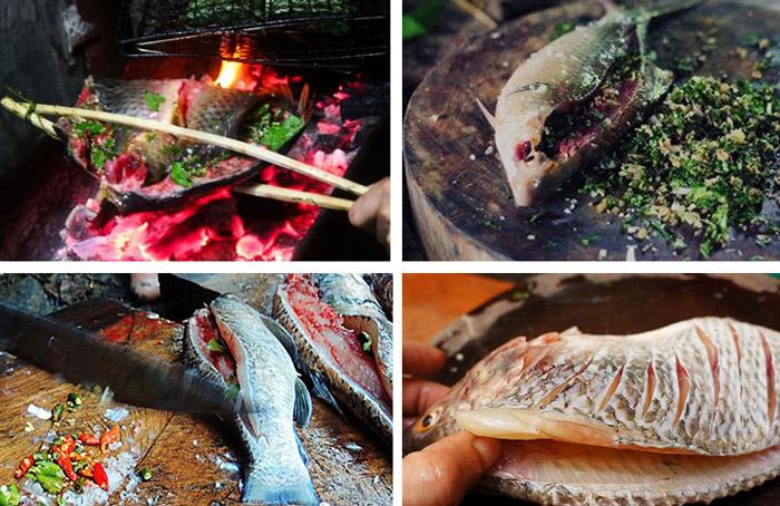 pa pinh top ca nuong moc chau 5 1 - Khám phá món Cá Nướng Pa Pỉnh Tộp của người Thái tại Mộc Châu