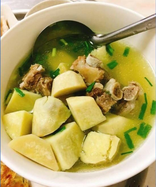 canh khoai so man dac san moc chau 1 - Điểm danh 11 món ăn đặc sản Mộc Châu nhất định không thể bỏ lỡ