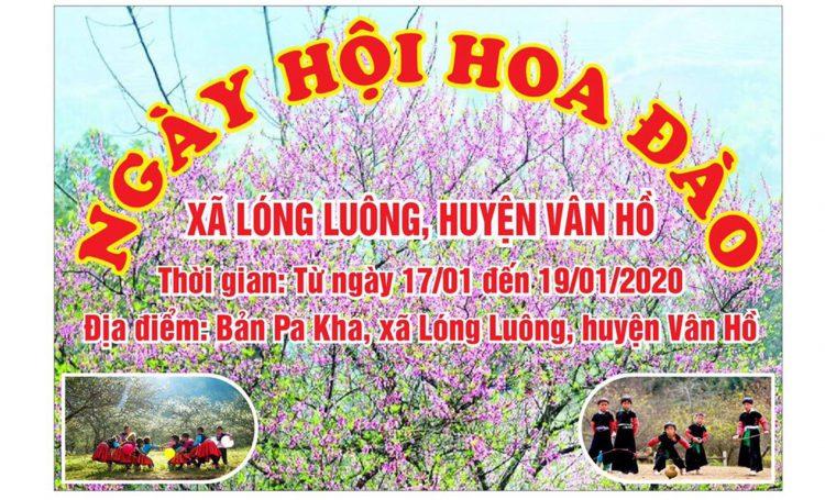 le hoi hoa dao 2020 1 750x455 - Chương trình ngày hội hoa đào Vân Hồ 2020