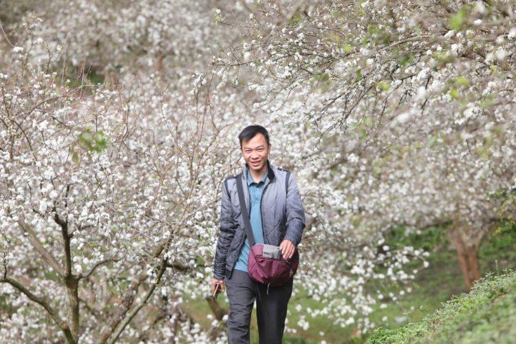 mu nau 2 750x500 - Hoa mận nở rộ trên thung lũng mu náu Mộc Châu
