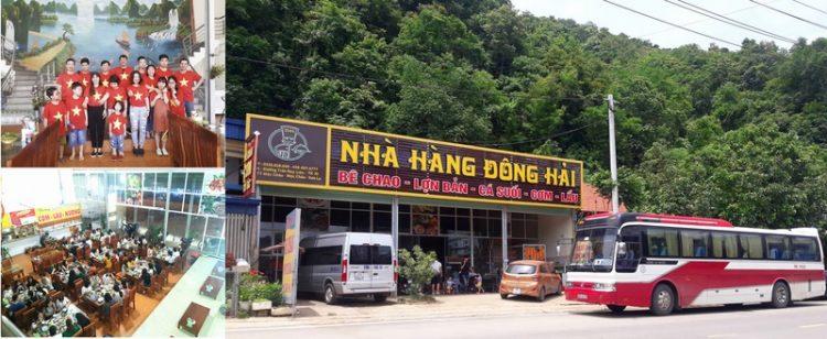 nha hang dong hai moc chau 750x308 - Điểm danh những nhà hàng đặc sản ngon tại Mộc Châu P1