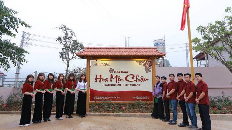 nha hang hoa moc chau  750x422 - Điểm danh những nhà hàng đặc sản ngon tại Mộc Châu P1