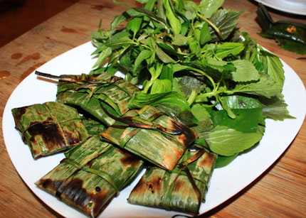 thi bam goi la nuong dac san moc chau 2 - Điểm danh 11 món ăn đặc sản Mộc Châu nhất định không thể bỏ lỡ