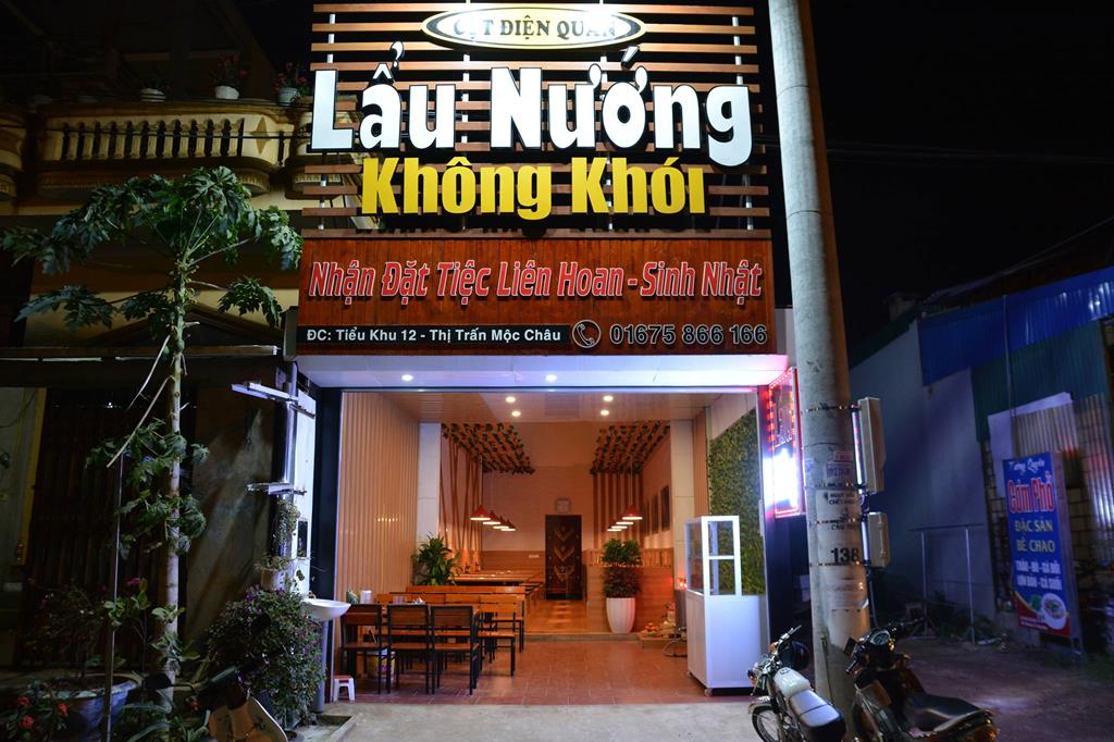 cot dien quan moc chau 01 Copy - Top 7 nhà hàng Lẩu Nướng Ngon - Bổ -  Rẻ Tại Mộc Châu