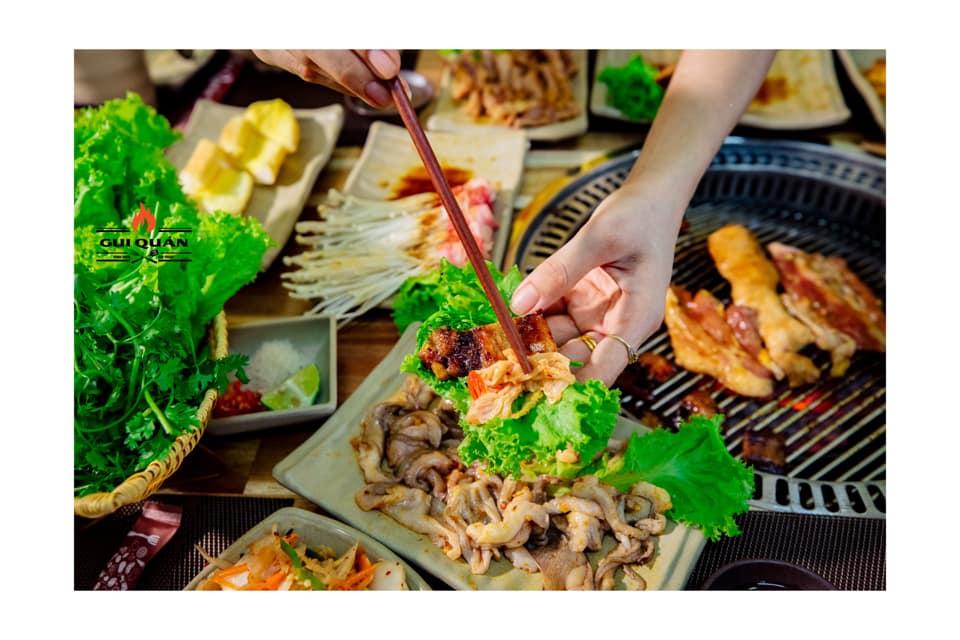 gui quan moc chau 03 - Top 7 nhà hàng Lẩu Nướng Ngon - Bổ -  Rẻ Tại Mộc Châu