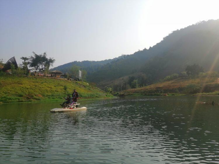 thac dai yem moc chau 6 750x563 - khu du lịch Thác dải yếm Mộc Châu | Điểm thăm quan lý tưởng