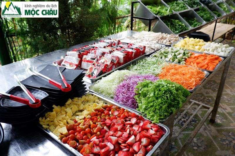 lau buffet 50k moc chau chimi farm 12 - Ăn Buffet Lẩu rau ở Mộc Châu chỉ với 49k/ 1 người | Chimi Farm