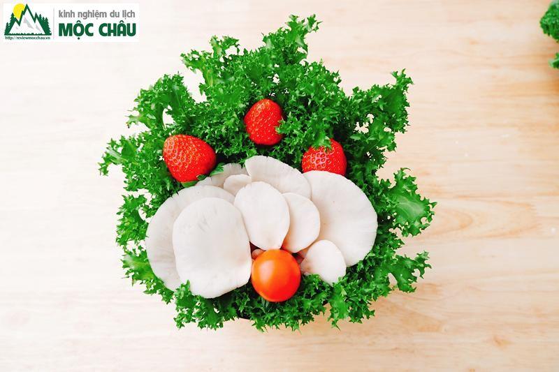 lau buffet 50k moc chau chimi farm 9 - Ăn Buffet Lẩu rau ở Mộc Châu chỉ với 49k/ 1 người | Chimi Farm