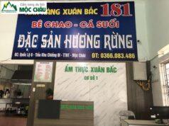 Nhà hàng Xuân Bắc Mộc Châu