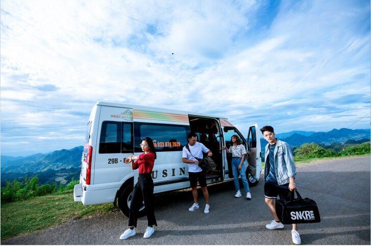 nhat an limousine 4 727x483 - Review du lịch Mộc Châu tất tần tật | Cẩm nang du lịch Mộc Châu 2020
