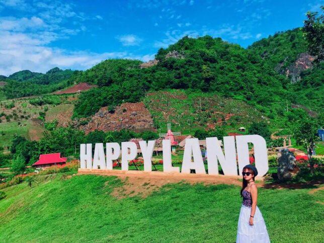 review happyland moc chau 2 644x483 - Review happyland Mộc Châu tất tần tật | Vườn hoa đẹp nhất Mộc Châu