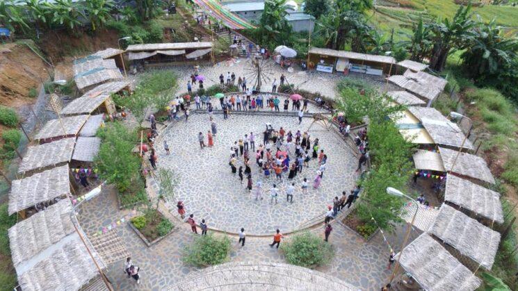 review happyland moc chau 3 745x419 - Review happyland Mộc Châu tất tần tật | Vườn hoa đẹp nhất Mộc Châu