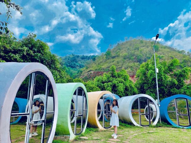 review happyland moc chau 4 644x483 - Review happyland Mộc Châu tất tần tật | Vườn hoa đẹp nhất Mộc Châu