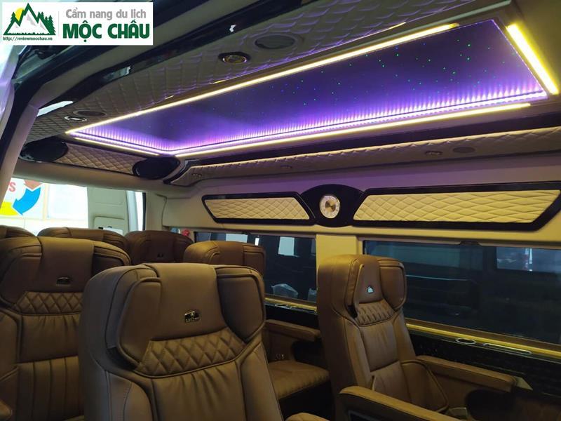 review xe limousine ha noi moc chau 12 - Review xe Limousine Hà Nội đi Mộc Châu từ A đến Z