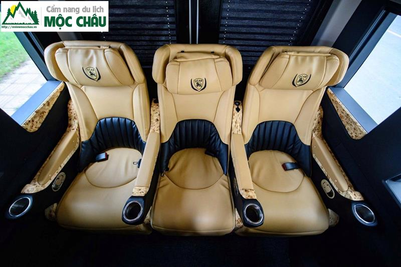 review xe limousine ha noi moc chau 6 - Review xe Limousine Hà Nội đi Mộc Châu từ A đến Z