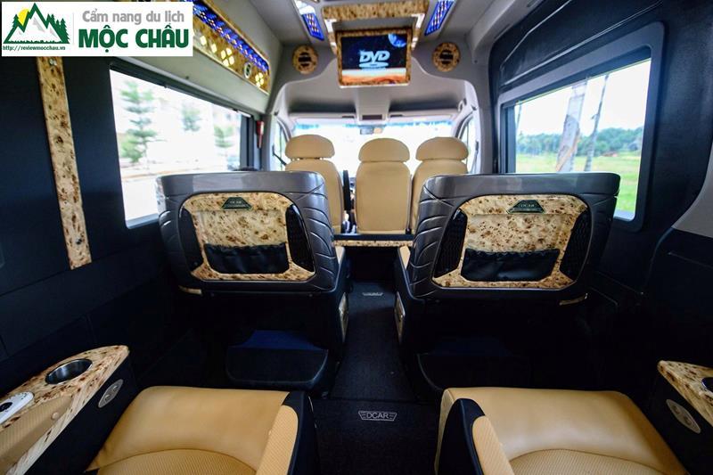 review xe limousine ha noi moc chau 7 - Review xe Limousine Hà Nội đi Mộc Châu từ A đến Z