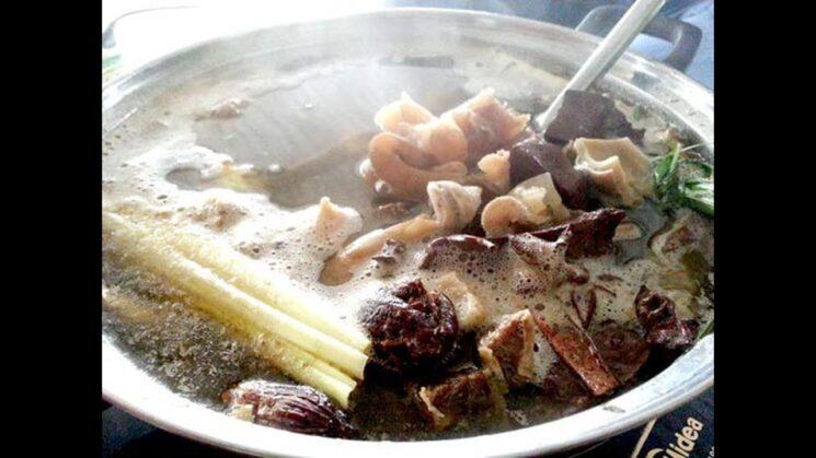 thang co moc chau 3 745x419 - Thắng cố món ăn dân dã đặc trưng khi đến với Mộc Châu