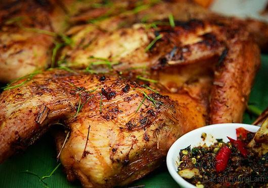 ga nuong mac khen 14 - Mê mệt với món Gà nướng mắc khén chấm chẳm chéo ở Mộc Châu