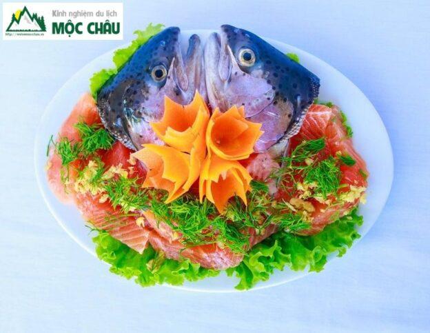 review ca hoi moc chau 6 result 624x483 - Review Cá hồi Mộc Châu, ăn cá hồi ở đâu và những điều bạn chưa biết