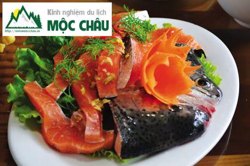 review ca hoi moc chau 7 result - Review Cá hồi Mộc Châu, ăn cá hồi ở đâu và những điều bạn chưa biết