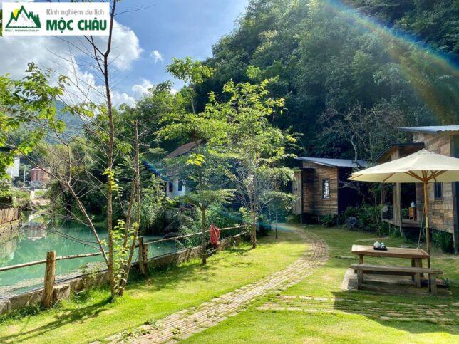 review nha ben suoi homestay 10 644x483 - Review chi tiết nhà bên suối homestay Mộc Châu |  House By Lake