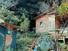 Review nhà bên suối homestay Mộc Châu
