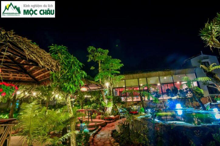 koi garden moc chau 22 724x483 - Koi Garden Mộc Châu quán caffee house cá koi đẹp nhất Mộc Châu