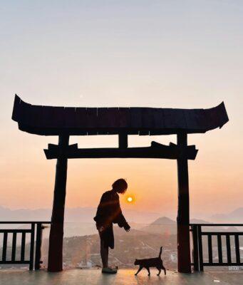 Cổng trời Mộc Châu