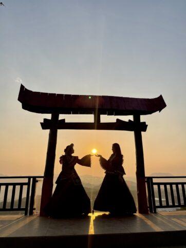 cong troi o moc chau 3 362x483 - Checkin Cổng trời ở Mộc Châu đẹp mê hồn