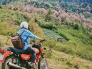 Thuê xe máy ở Mộc Châu