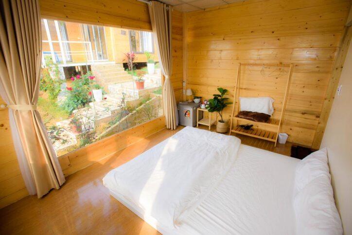 double woodenhouse 10 724x483 - Review siêu chi tiết homestay Wooden House Mộc Châu