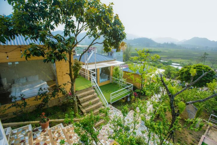 double woodenhouse 17 724x483 - Review siêu chi tiết homestay Wooden House Mộc Châu